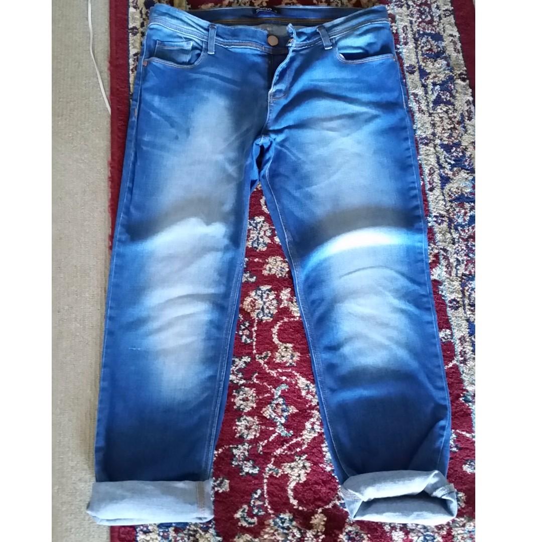 Boyfriend Kelso brand size 12 slim fit stretch jeans