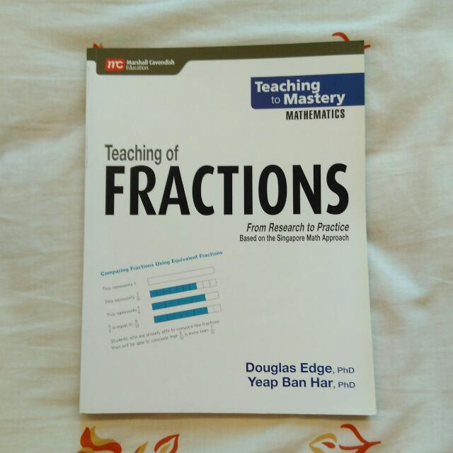 Brand New Primary Mathematics Fraction Book