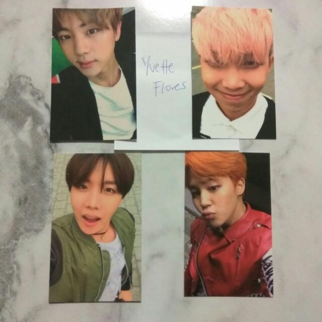 BTS hyyh pt 2 photocards