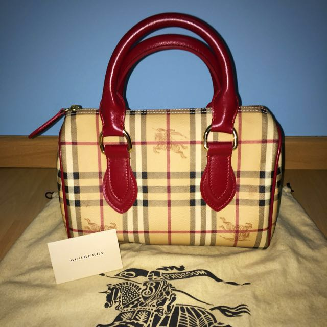 Burberry Speedy Handle Bag 5b7259bd1c813