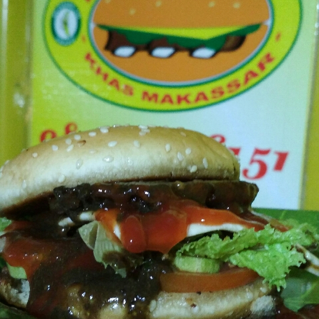 Burger Konro Bakar EWAKO