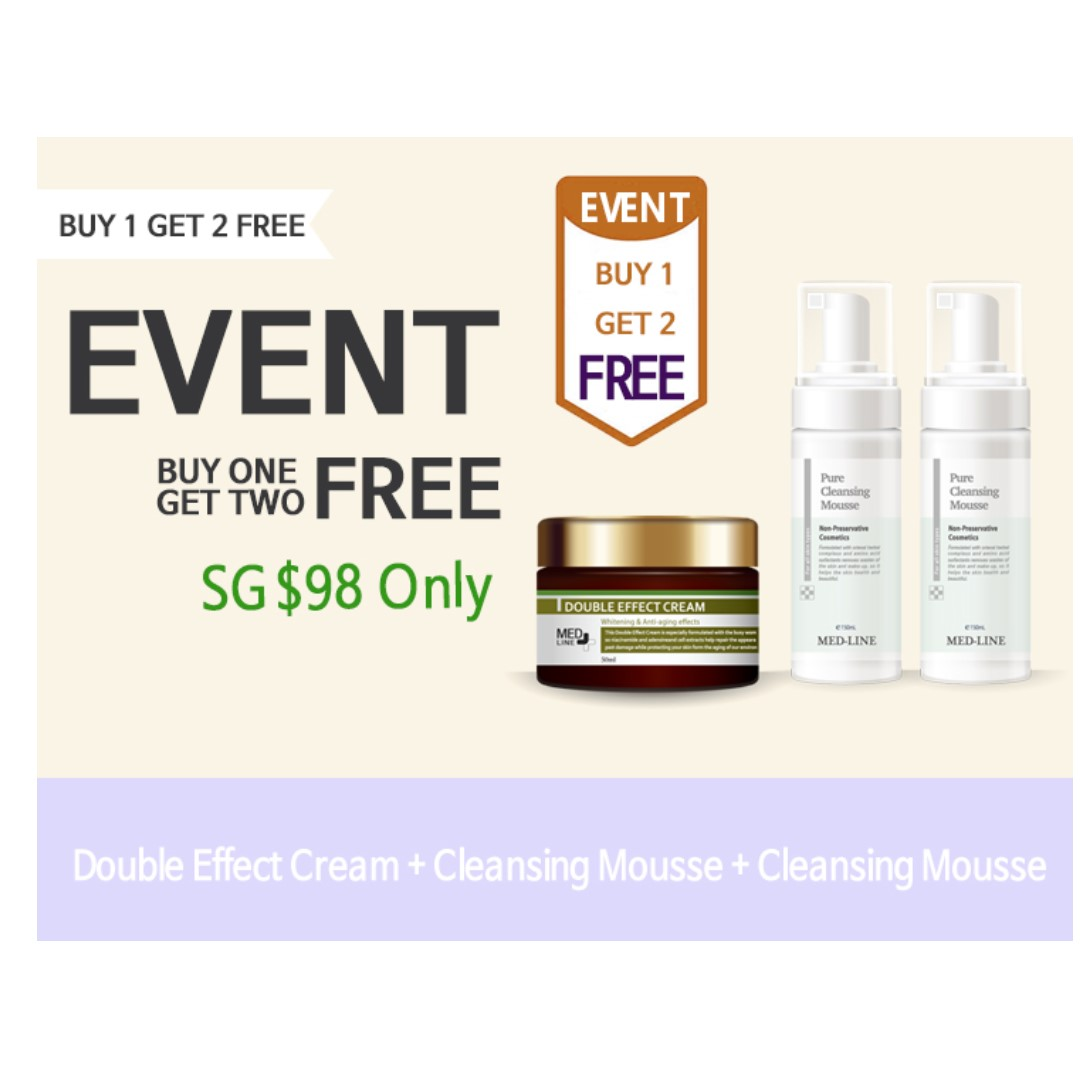 BUY 1 GET 2 FREE - MED-LINE SKINCARE PRODUCTS FROM KOREA