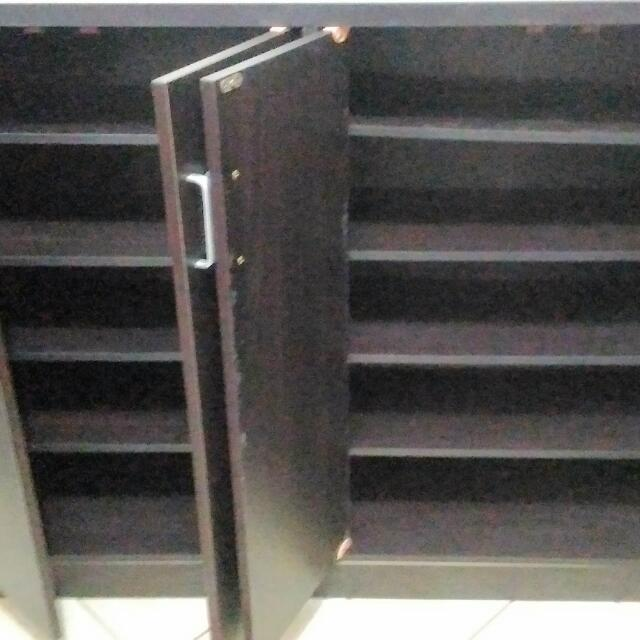 Cabinet/ Cabinet Shoe Rack (3 Months Used)