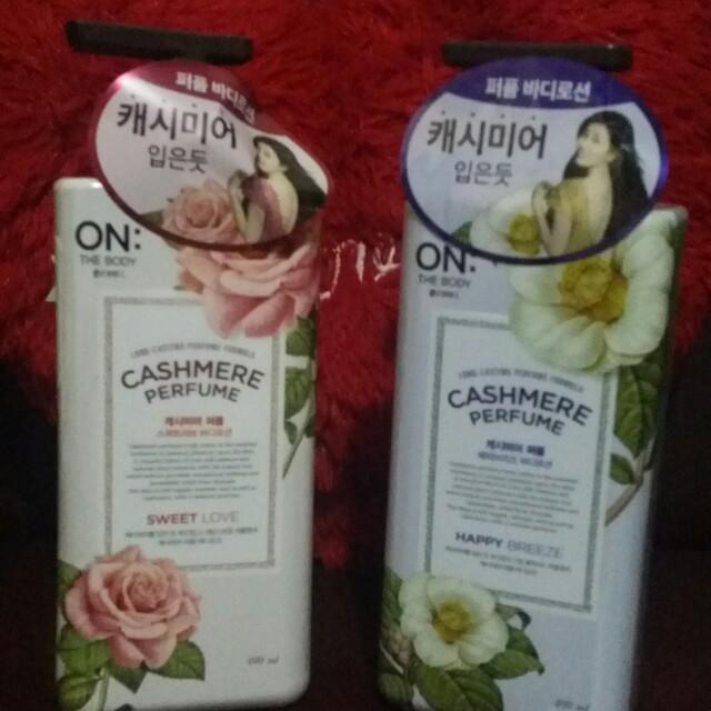 Cashmere lotion korea