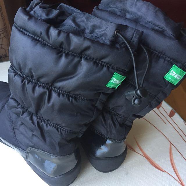 Cougar girls waterproof winter boots size 3