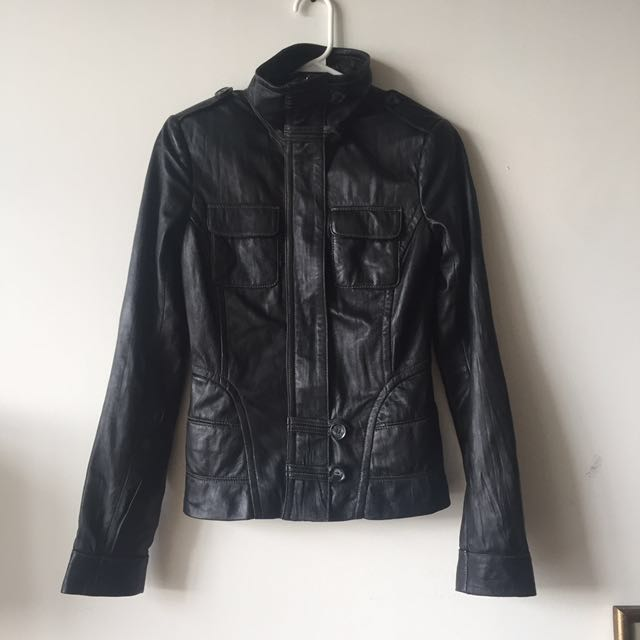 Danier Leather Moto Jacket