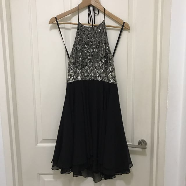 Embellished dress sz8