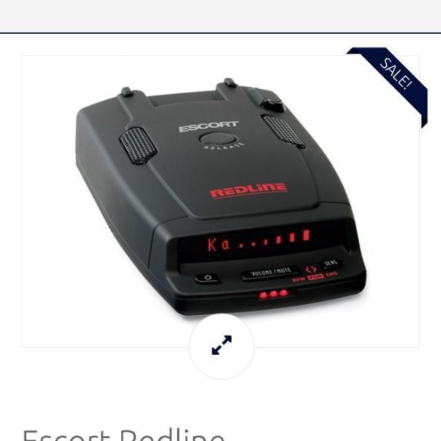Escort Redline Radar