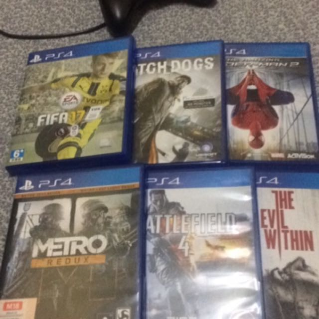 dac377ac0 FIFA17 rm90-watchdog rm70-spiderman 2 rm60-METRO REDUX rm80-Battlefield 4  rm 70-the evil within rm70
