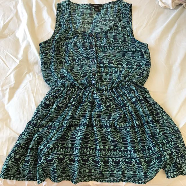 Forever 21 Aztec Print Dress