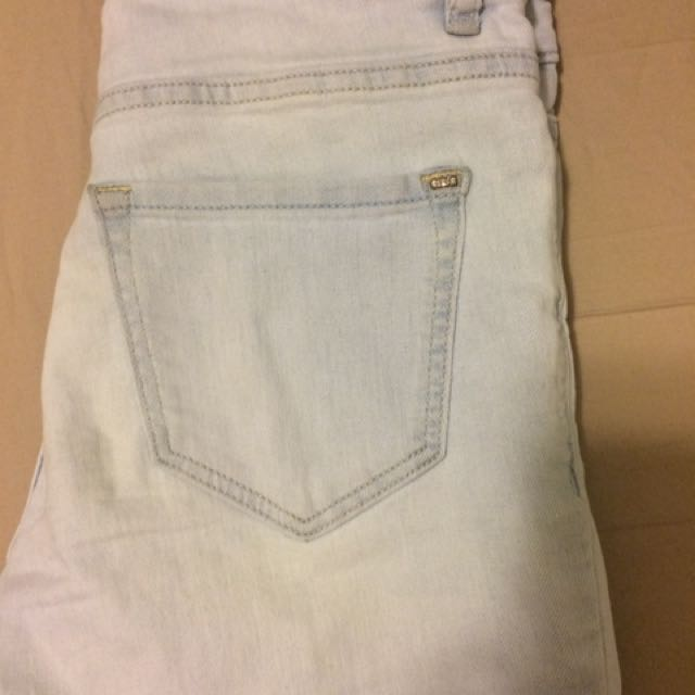 Garage high waisted skinny jeans size 1-2