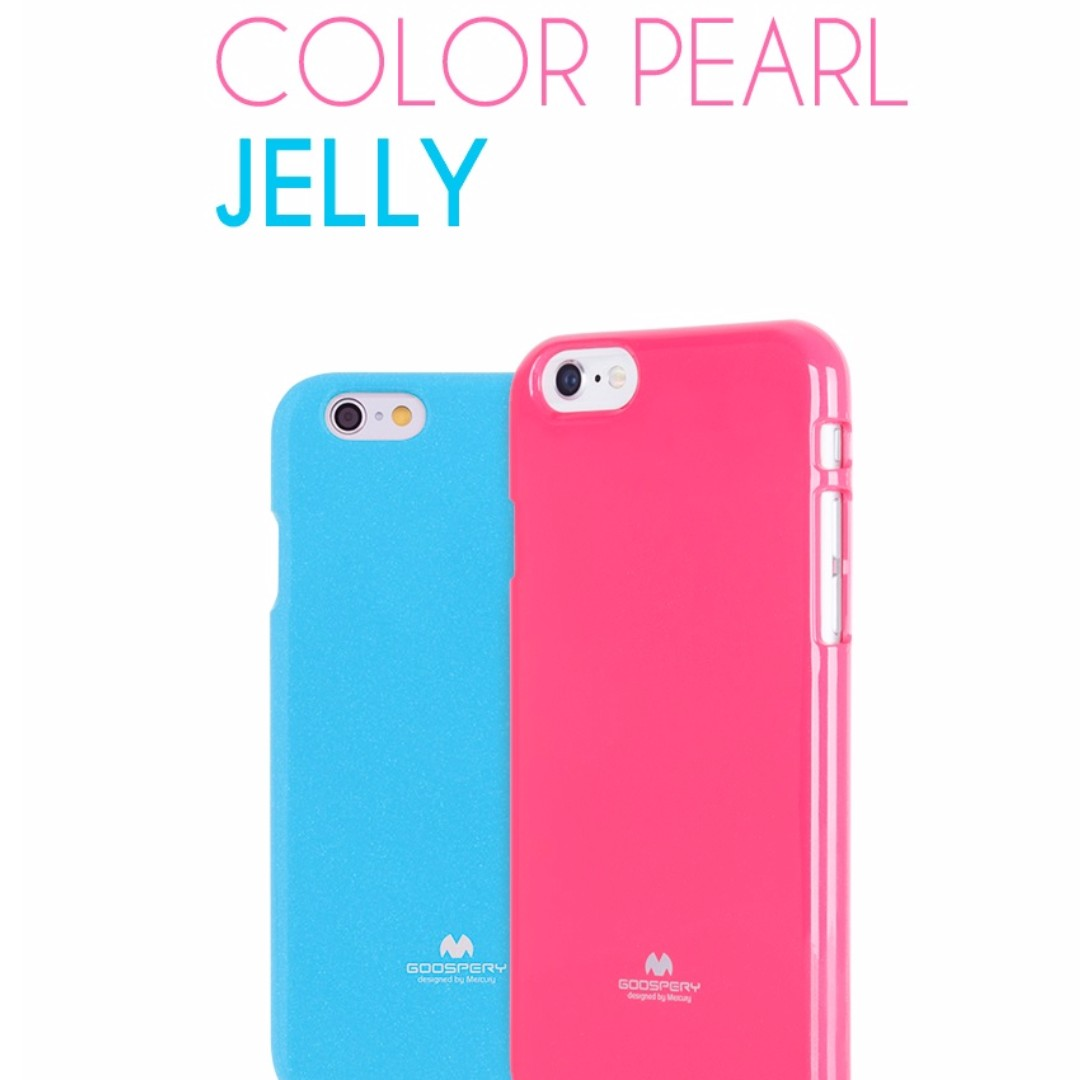 Goospery Jelly Case Samsung Core Prime 2 Pearl All Type Special  Blue Back Mercury Mobiles Tablets Mobile Tablet Accessories On Carousell