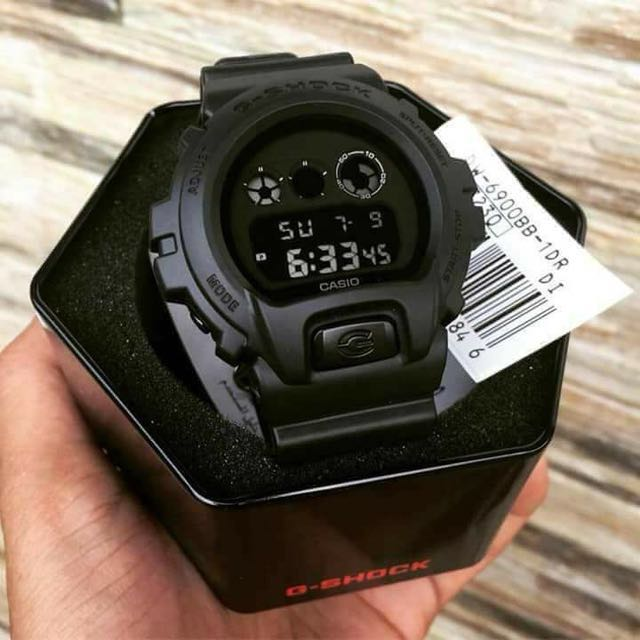 G-SHOCK DW-6900BB (OEM) Waterproof Limited stocks only