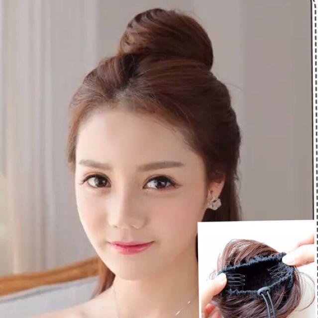 Hair Bun Extension Health Beauty Hair Care On Carousell