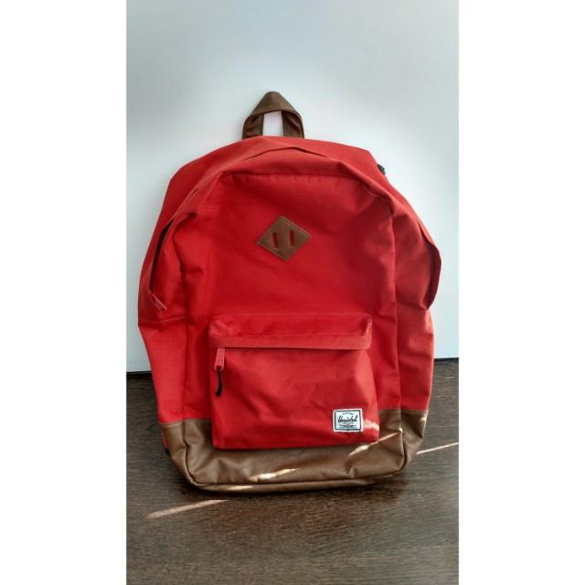 Herschel Laptop Backpack (Orange)