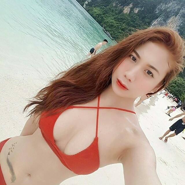 H&M red bikini