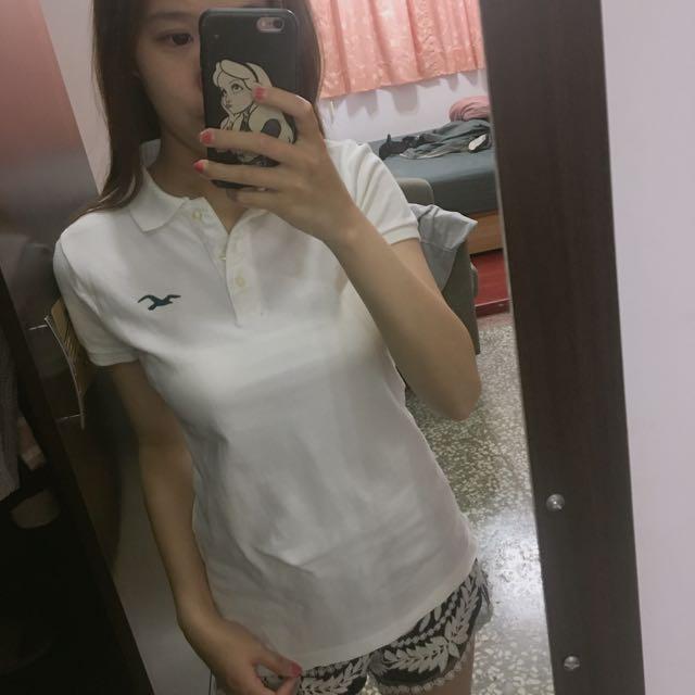 Hollister女版polo衫