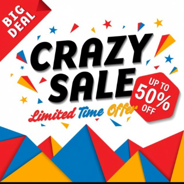 Huge Discount On Selected Items !!!