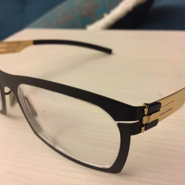 Ic!berlin經典眼鏡,九成新,這支不用多介紹