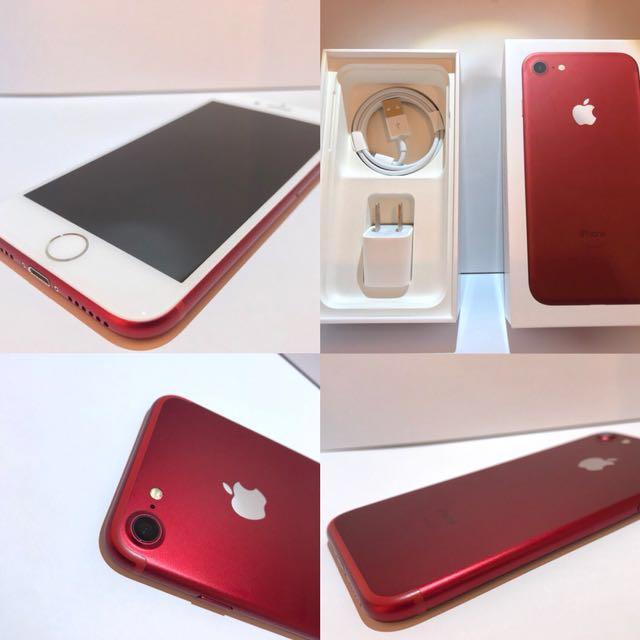 iPhone7 128G 紅色 (限量款)