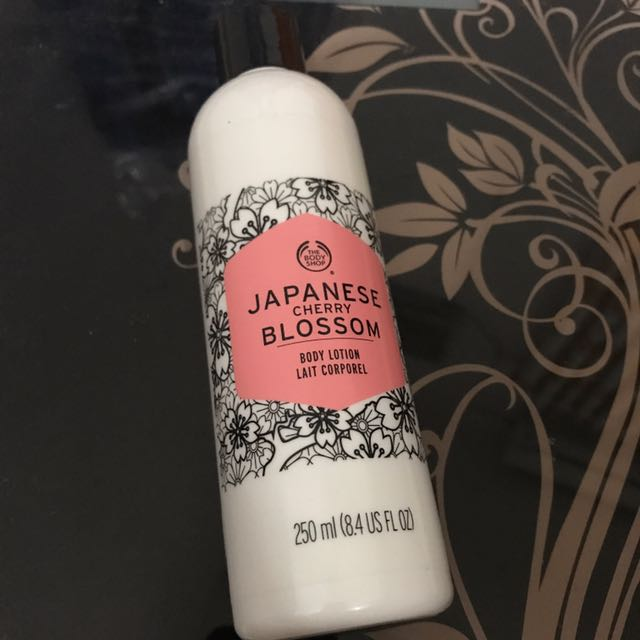 Japanese Cherry Blossom Lotion The Body Shop