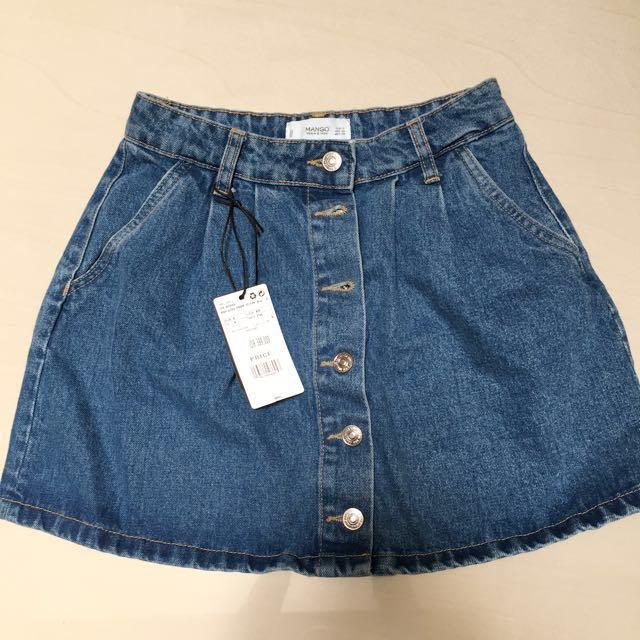 JUAL RUGI Mango Denim Skirt