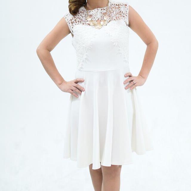 Lace Dress (white)