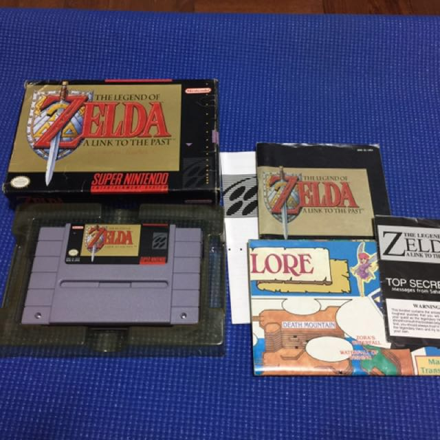 Legend of Zelda SNES, Toys & Games, Video Gaming, Video