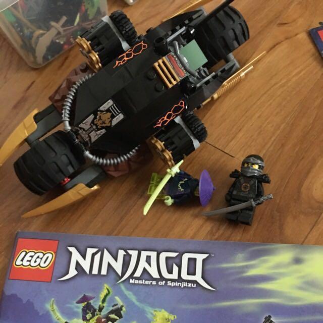 Lego Ninjago Blaster Bike 70733 Toys Games Bricks Figurines On