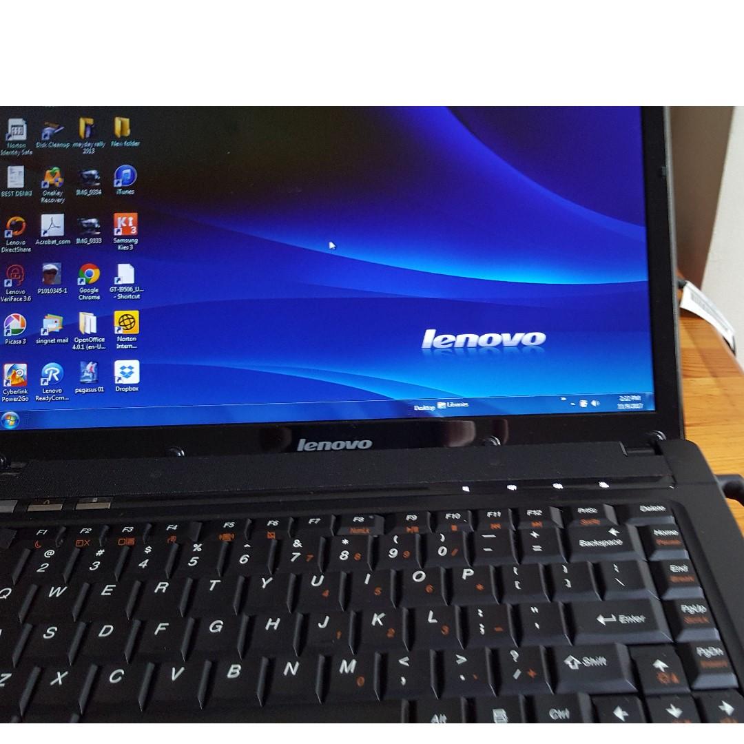 Lenovo laptop G460