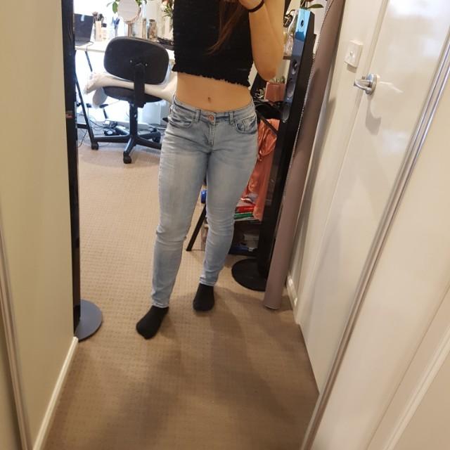 Light blue jeans cotton on