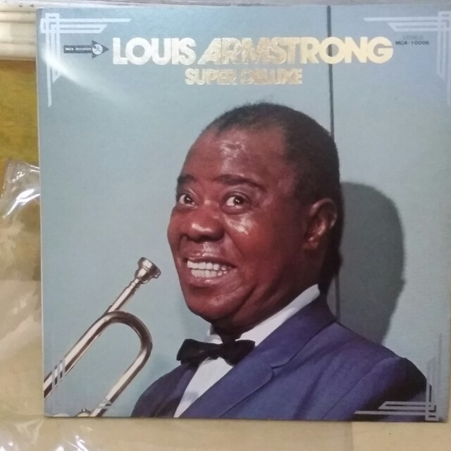 Louis Armstrong super deluxe Vinyl