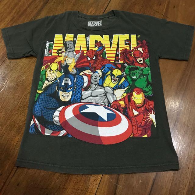Marvel shirt for boys 8-10