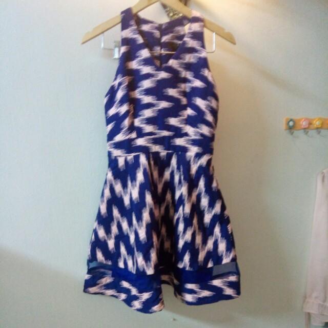 MGP mesh bottom dress