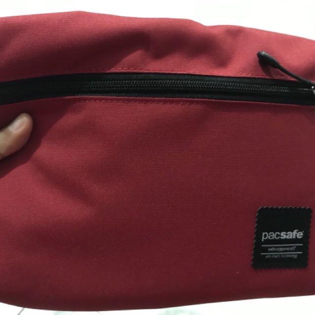 Mini cross body bag (red)