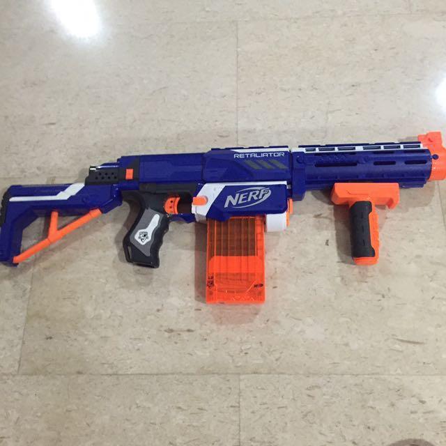 Nerf Guns (Retaliator, Longstrike, Spectre), Toys & Games, Bricks &  Figurines on Carousell