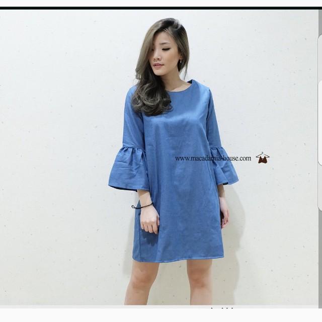 NEW Dress Bukan Second LD 94 cm Length 85cm