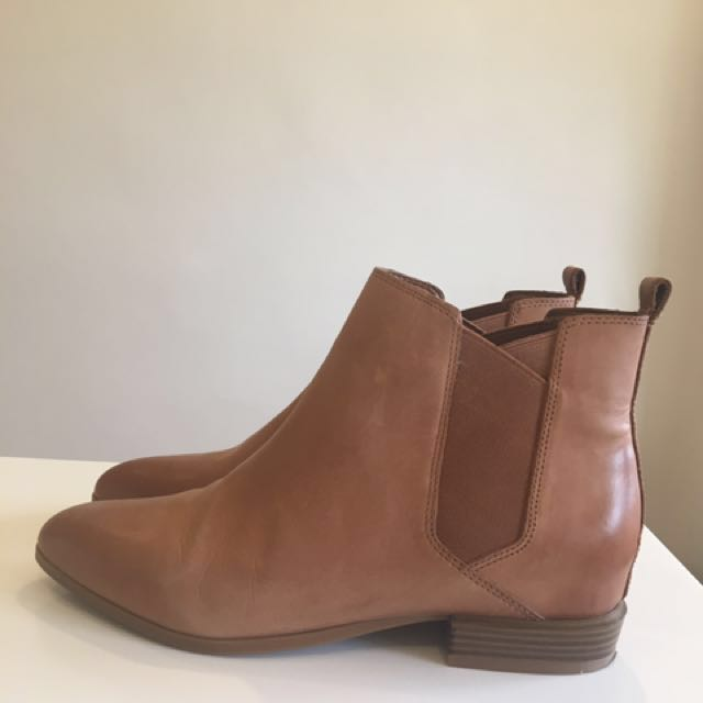 Nine West Leather Boots- Barely Used