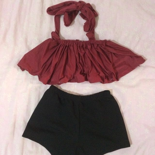Ootd for baby w/ headpiece