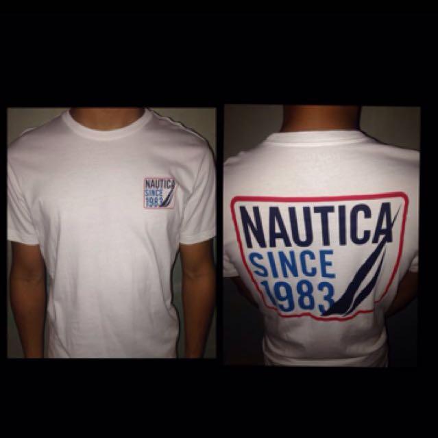 Original Nautica white shirt