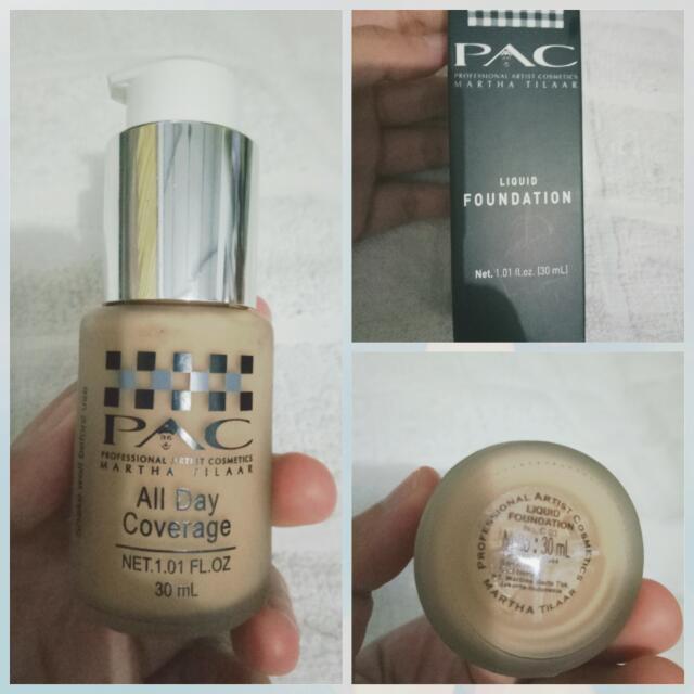 PAC foundation shade C03
