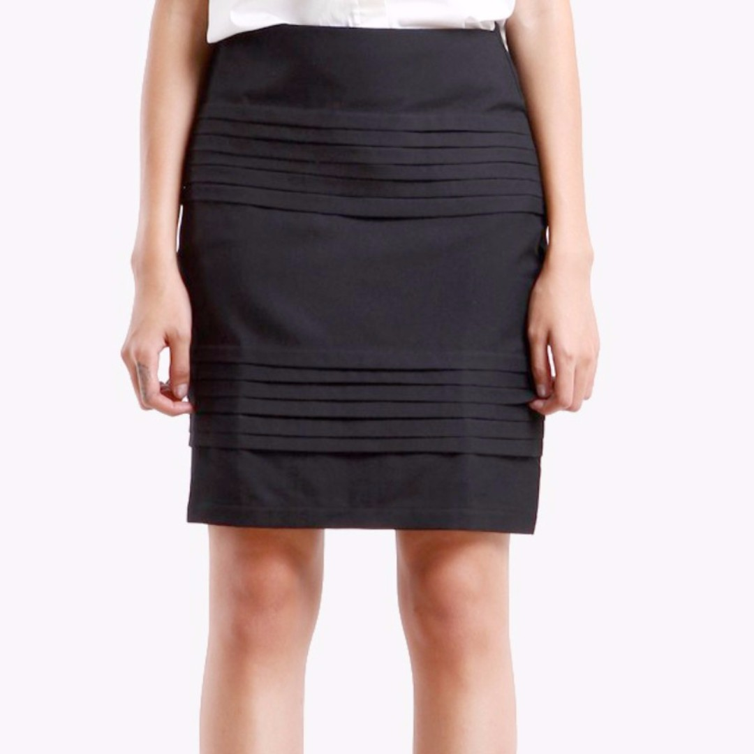Pleated Skirt S