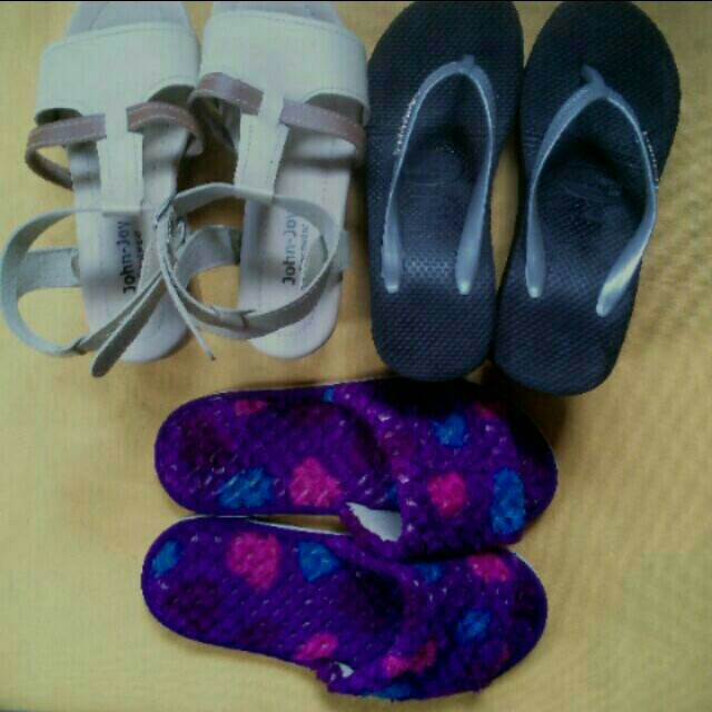 """preloved footwear size 7"""" all for 249"""
