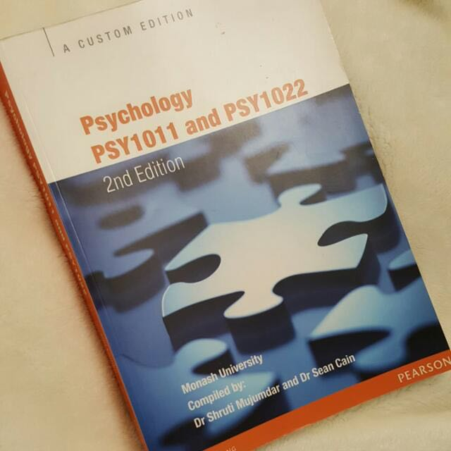 Psychology PSY1011 and PSY1022 Second Edition