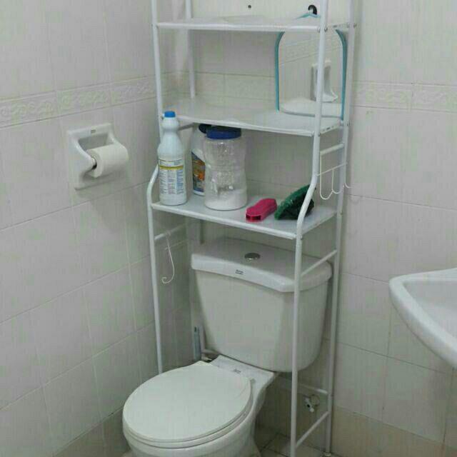Rak 3 Tingkat Utk Bilik Air Rumah Perabot Di Carou