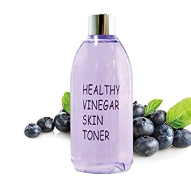 REAL SKIN Healthy Vinegar Blueberry Skin Toner 300ml