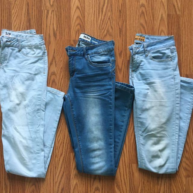 ‼️REDUCED‼️Skinny blue jeans /jeggings
