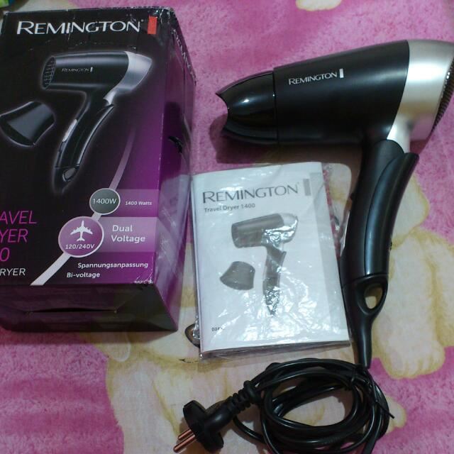 Remington TRAVEL Hair Dryer 1400