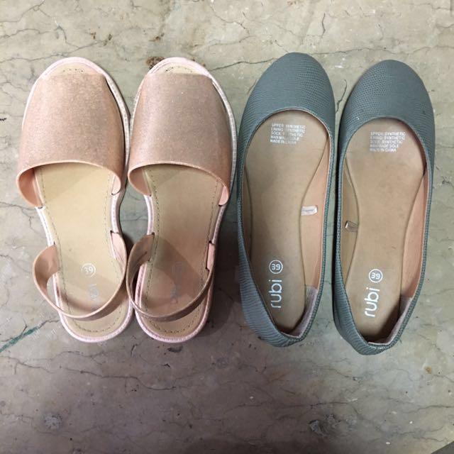REPRICED‼️Rubi Bundle Shoes