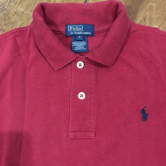 RL Boy's polo shirt size 7